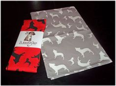 Staffordshire Bull Terrier Staffy Staffie Bullbreed Dog Silhouette Kitchen Tea Towel Staffordshire Bull Terrier, Bull Terrier Dog, Dog Silhouette, 2 Colours, Tea Towels, Printed Cotton, Interior, Dogs, Kitchen