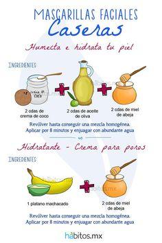 Hábitos Health Coaching | MASCARILLAS FACIALES CASERAS