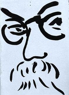 Henri Matisse, Self Portrait, 1935                                                                                                                                                                                 Más