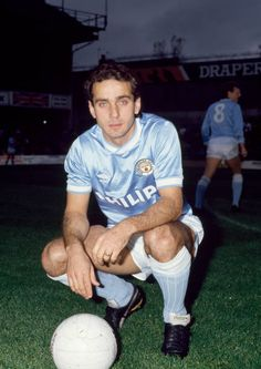 Imre Varadi of Manchester City before the Today League Division One match between Southampton and Manchester City at The Dell on November 1986 in Southampton, England. Get premium, high resolution news photos at Getty Images Retro Football, Football Cards, Football Players, World In Motion, Sheffield United, Everton Fc, Manchester City, Division, First Love