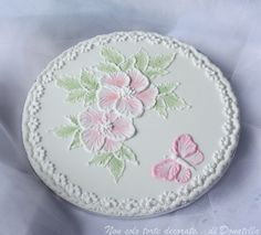 Brush Embroidery cookie