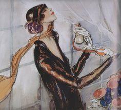 J.G Doumergue parisienne vintage 1920s