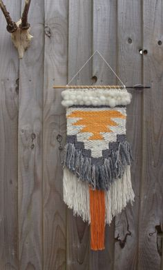 HECHO a pedido / tejido colgante de pared / / arte por BohoBentley
