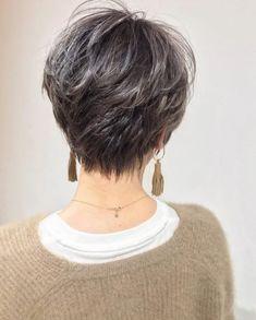 Grey Hair, Cool Hairstyles, Short Hair Styles, Hair Makeup, Hair Cuts, Hair Color, Hair Beauty, Chic, Women