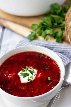 Borsch Recipe | Ukrainian Borsch Recipe | Easy Borsch Recipe | Best Borsch Recipe