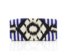 Beaded Tribal Clutch by Moyna from Monet Mazuron OpenSky