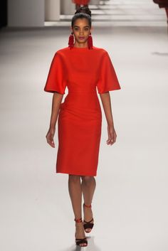 New York Fashion Week February 2014  Carolina Herrera Collection