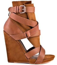 Shoe of the Day | Joe's Jeans Helena Banded Wedge Bootie