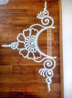 Rangoli … More Rangoli Designs Latest, Simple Rangoli Designs Images, Rangoli Designs Flower, Rangoli Border Designs, Rangoli Designs With Dots, Flower Rangoli, Beautiful Rangoli Designs, Easy Rangoli Designs Diwali, Latest Rangoli