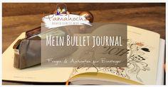 Mein Bullet Journal für Einsteiger. Ich erkläre dir, wie man ein Bullet Journal anlegt und führt.