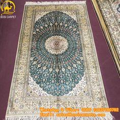 230L 3x5ft Handmade silk carpet in stock No. SP--3X5-16