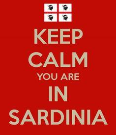 keep calm you are in #Sardinia #sardegna