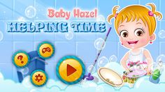 Baby Hazel decides to help her dad and mom in completing their daily tasks. Can you assist in completing the work perfectly? https://itunes.apple.com/us/app/baby-hazel-helping-time/id1019114657
