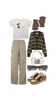 Retro Outfits, Indie Outfits, Teen Fashion Outfits, Grunge Outfits, New Outfits, Vintage Outfits, 2000s Fashion, Swaggy Outfits, Cute Casual Outfits
