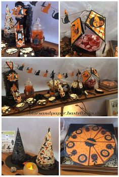 Stampin' Up! - Colors & Paper - Halloween 2017 - Candybar