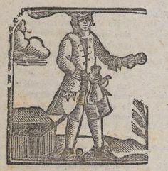 Hombre armado con una bolsa en una mano y una moneda en la otra.