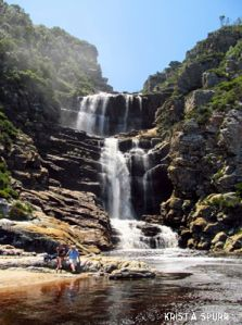 South Africa Tsitsikamma park Waterfall Trail.