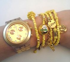 Mixedmedia Bracelet  can be used as necklace  by TresJoliePT, €14.00