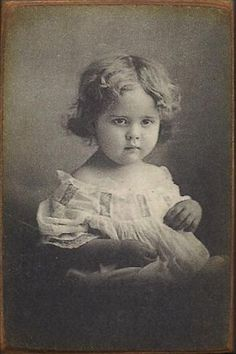 Little Flora, the first ghost I met at the house.-LP