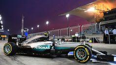 2016 GP Bahrainu (Nico Rosberg) Mercedes F1 W07 Hybrid