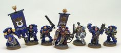 Tale of Painters: Ultramarines: Command Squad