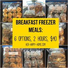 Freezer Friendly Meals, Make Ahead Freezer Meals, Crock Pot Freezer, Freezer Cooking, Cooking Recipes, Freezer Recipes, Cooking Tips, Budget Freezer Meals, Meals To Go