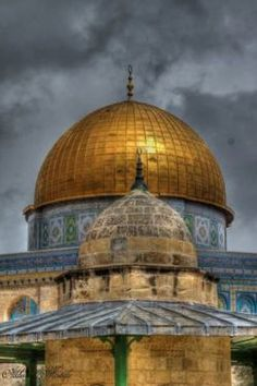 dome of the rock, temple mount, jerusalem.