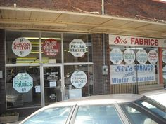 The famous Sirs Fabrics.   Fayetteville TN