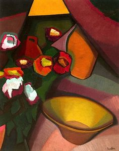 Auguste Herbin. Still Life with Bowl. 1909