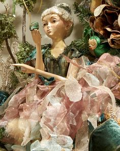 Fairies collection by Goodwill Belgium - Fairy doll would also look great on a ballet Christmas tree idea for Nutcracker Ballet Noel Nutcracker Christmas Decorations, Xmas Decorations, Christmas Themes, Christmas Tree Ornaments, Victorian Christmas, Pink Christmas, Nutcracker Ballet Costumes, Elves And Fairies, Christmas Interiors