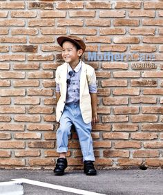 Mother&Care Fashion : Indy Boy_August 2014 # 116 #Cr.motherandcare.in.th