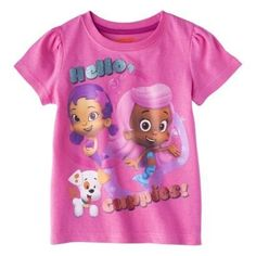 Find shirts at Target.com! Bubble guppies infant toddler girls' short-sleeve tee - 12 m