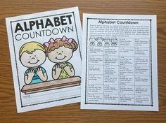 Alphabet Countdown A