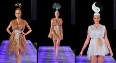 3D Printed Hats Attract Attention At Fashion Show