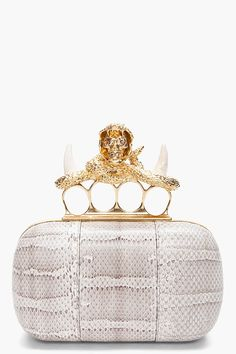 """This is at the very top of my list!! This clutch is so unique and bold and just screams"""" yes I love nice things and?""""    #fashion #Style"""
