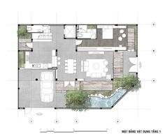 House Layout Plans, House Layouts, House Floor Plans, Indian House Plans, Villa Plan, Architectural House Plans, Floor Layout, Indian Homes, Architect House
