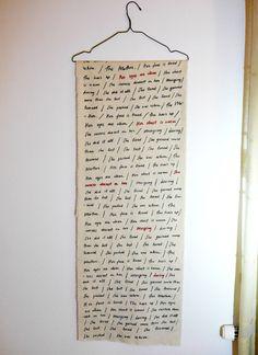 "'The Mother"" by Svetlana Bogatcheva #art #motherhood #arte #kunst #konst #taide #wordart #textileart #conceptual #femaleartist"