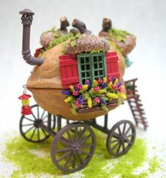 Kilmouski & Me Walnut Shell Gypsy Caravan