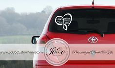 In Loving Memory Of Memorial Vinyl Car Decal - Personalized Infinity Heart Decal With Wings - Until We Meet Again  SKU # IHM1   ** ITEM DESCRIPTION **  What better way to remember that special loved one than with this elegant personalized infinity heart memorial vinyl decal with angle wings! This vinyl decal comes in your choice of over 30 beautiful glossy finish colors. We use the highest quality vinyl to make our decals to ensure that our customers receive nothing but the best. The vinyl…