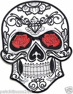 Sugar skull tattoo flash drawing day of the deas bmw ...
