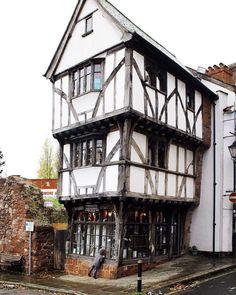 Tudor house Exeter Devon