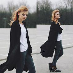 Katarzyna K. - Black, grey, white.