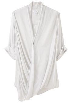 Minimal + Classic: Helmut Lang Overlap Shirt