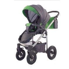 Kočárek Jumper Light plastová korbička, zelená Baby Strollers, Jumper, Green, Fabric, Baby Prams, Tejido, Sweater, Tela, Jumpers