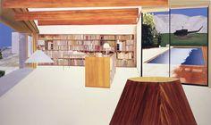 Dalwood: 1999 Camp David oil on canvas 198 x 335cm