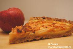 Tarta cu mere, o reţeta delicioasă!