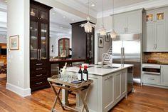 open floor plans kitchens   Gallery of Open Kitchen Floor Plans With Fresh Atmosphere