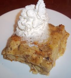 The Daily Smash: Simple Bread Pudding with Vanilla Sauce