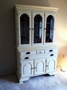 Hutch Craigslist Findrepainted With Annie Sloan Old White Solid