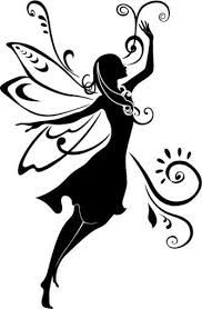 Image result for fairy silhouette free